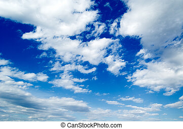 The beautiful clouds.
