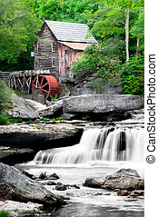 Glade Creek Grist Mill - The Beautiful historic Glade Creek ...