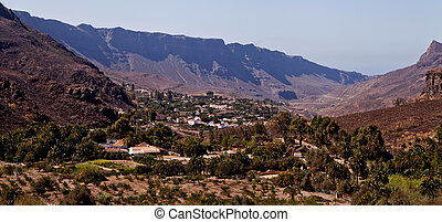 Fataga at Gran Canaria