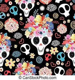 The beautiful of skulls