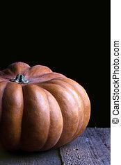 the beautiful pumpkin