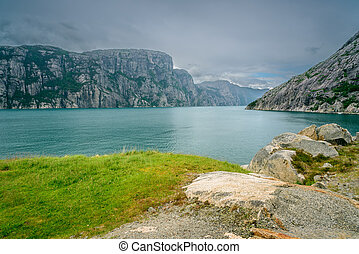 The beauty of Lysefjord, Norway