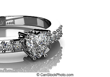 The beauty wedding ring .3D