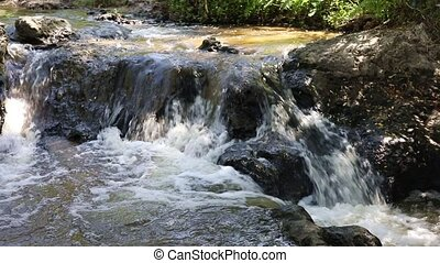 The beginning of the Fairy Stream, one of the interesting...
