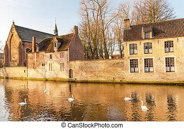 The Beguinage of Bruges