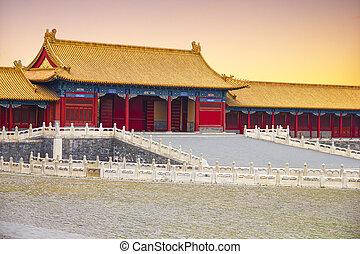The Beijing's Forbidden City
