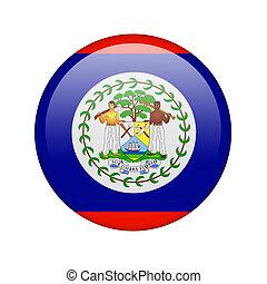 The Belize flag