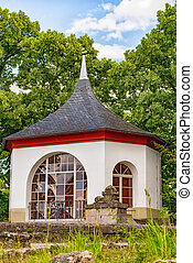 The Bergfried in Saalfeld