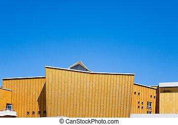 The Berliner Philharmonie; a concert hall in Berlin, Germany