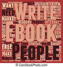 The Best Content For Your Ebook text background wordcloud concept