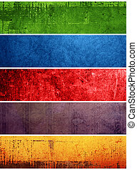 The Best of Collection. old-fashioned grunge background
