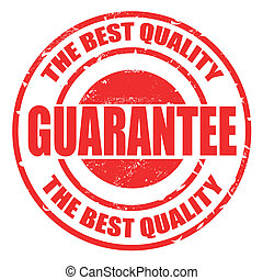 the best quality guarantee stamp