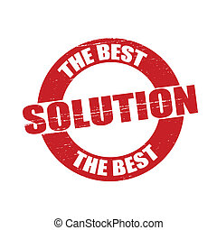 The best solution - Stamp with text the best solution...