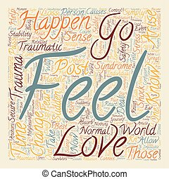 The Best Way To Handle Post Traumatic Stress How To Handle Sudden Shock And Loss text background wordcloud concept
