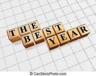 the best year in golden