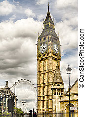 The Big Ben, Houses of Parliament, London