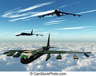 bomber training flight