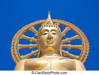The big buddha temple at Koh Samui, Thailand