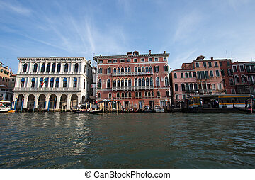 The big channel in Venice