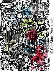 The Big City Doodle