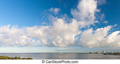 The big cloud over gulf