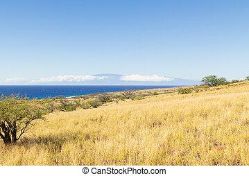 The big Island of Hawaii and Maui