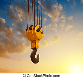 The big lifting hook