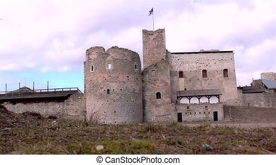 The big old medieval castle