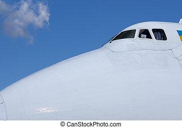 The big transport plane