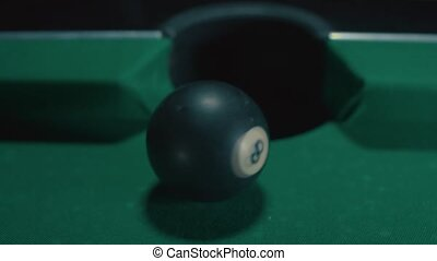 Billiard good shot American Pool
