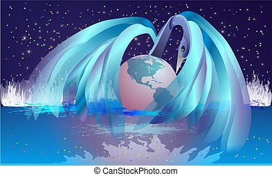 the birth of the Earth,