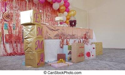 The Birthday Decorations