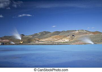 The Bjarnarflag Geothermal Power Station