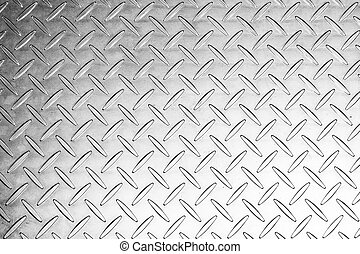 the black and white of metal texture in the low key tone background