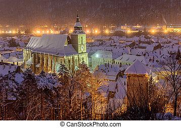 The Black church, Brasov, Romania