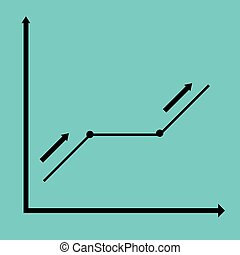 The black graph rate indices.