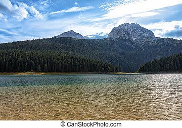 The Black Lake (Crno jezero), northern Montenegro