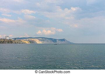 The black sea city of Novorossiysk