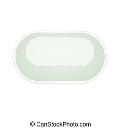 the blank oval button