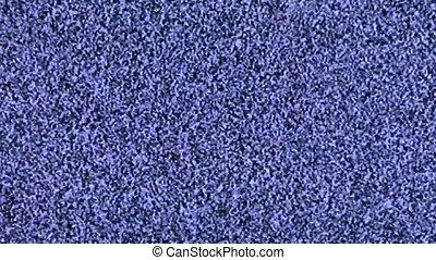 The blue background - Flashing blue background