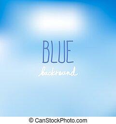 Blue blurred backgrounds