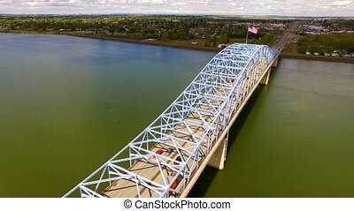 The Blue Bridge Intercity Columbia Crossing River Kennewick...