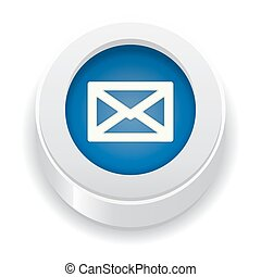 the blue button with envelope icon