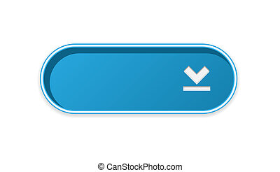 The blue download button