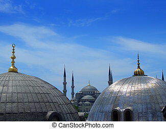 The Blue Mosque in Istanbul