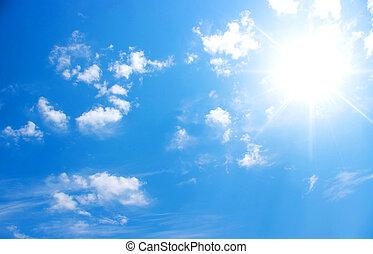 sky and sun