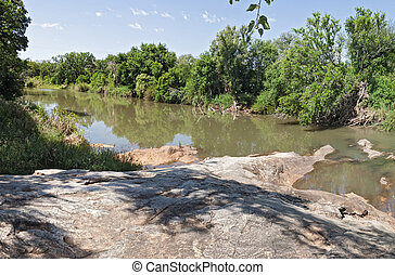 The Blyde river near Hoedspruit, South Africa