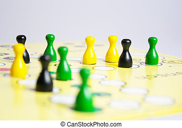 the board game ludo