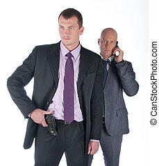 The bodyguard of the businessman - The businessman and the...