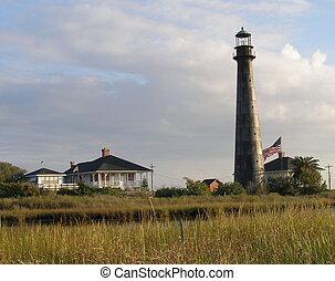 The Bolivar Lighthouse